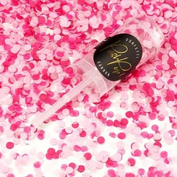 Push up confetti - Pink