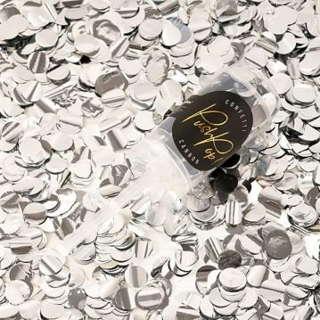 Push up confetti - Sølv