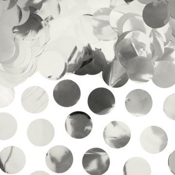 Konfetti Sølv metallic 15g
