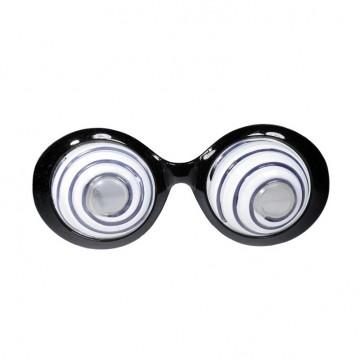 Skør festbrille med spiraler