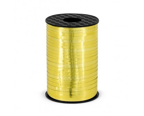225 meter Gavebånd guld metallic 5mm bred