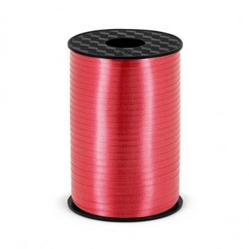 225 meter Rød gavebånd 5 mm