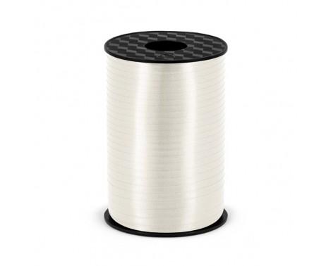 225 meter Hvid gavebånd 5 mm