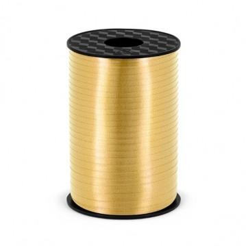 225 meter Guld gavebånd 5 mm
