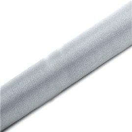 Organza Sølv med glimmer 0,16 x 9m