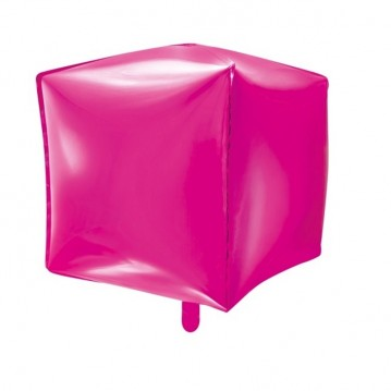 """Firkantet ballon 18"""" Mørk pink"""