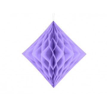 Lavendel diamant honeycomb 20 cm