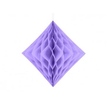Lavendel diamant honeycomb 30 cm