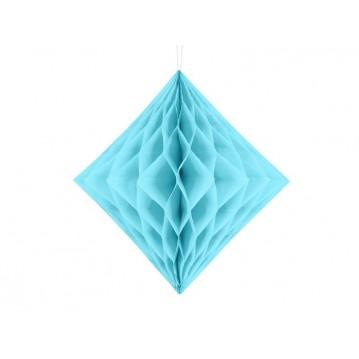 Himmelblå diamant honeycomb 30 cm