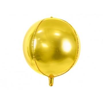 """Folieballon bold 4D - guld 16"""""""