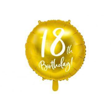 """18 års fødselsdag folieballoner 18"""""""