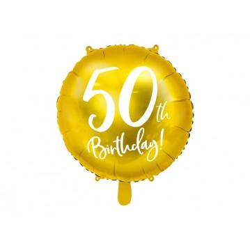 """50 års fødselsdag folieballoner 18"""""""
