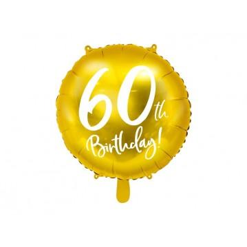 """60 års fødselsdag folieballoner 18"""""""