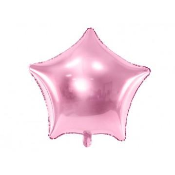 "Pink Stjerne 18"" folieballon"