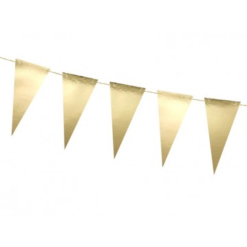 """Bunting, gold, 2.15 m"""
