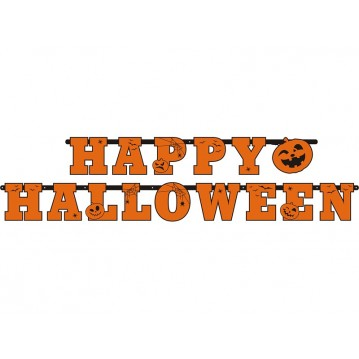 """""""Banner Happy Halloween, 13 x 210cm"""""""