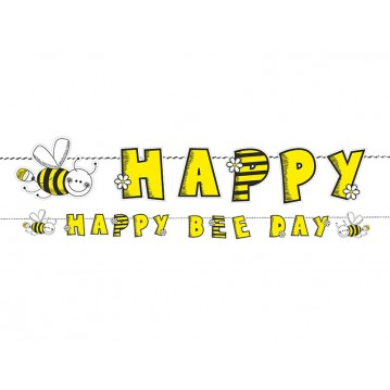 Happy Birthday Bee banner - 153 cm