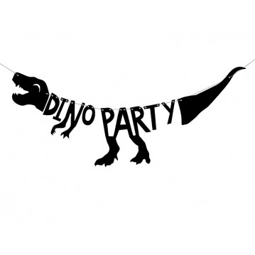 Dinosaurs - Dino Party banner - 90cm