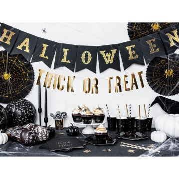 Happy Halloween banner - sort 20x175 cm