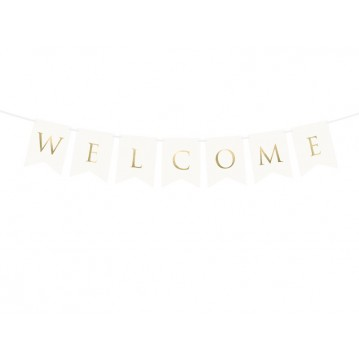 Welcome banner - 95 cm
