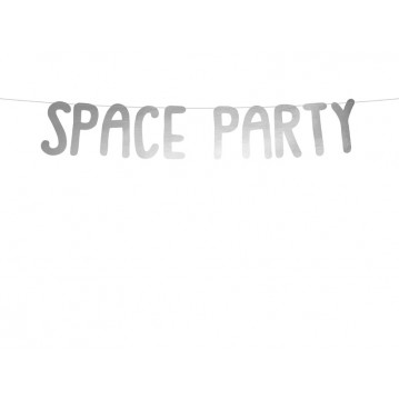Space party banner - 96cm
