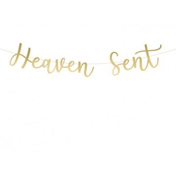Heaven sent banner - 85cm