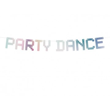 """Banner Electric Holo - Party Dance, iridescent, 9.5x130cm"""