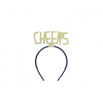 """Headband Happy New Year - Cheers, gold"""