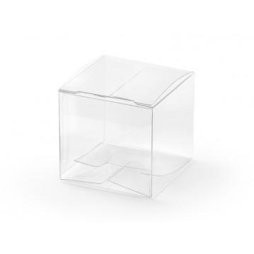 10 stk Gaveæsker transparent plastik
