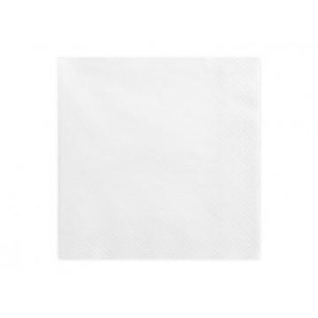 """""""Napkins, 3 layers, white, 33x33cm (1 pkt / 20 pc.)"""""""