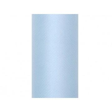 Tyl himmelblå - 50 cm x 9 meter