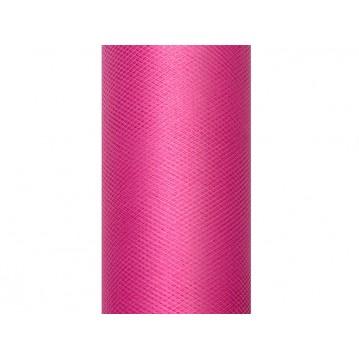 Tyl mørk pink - 8 cm x 20 meter
