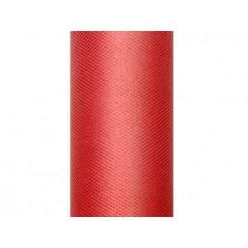 Tyl rød - 8 cm x 20 meter