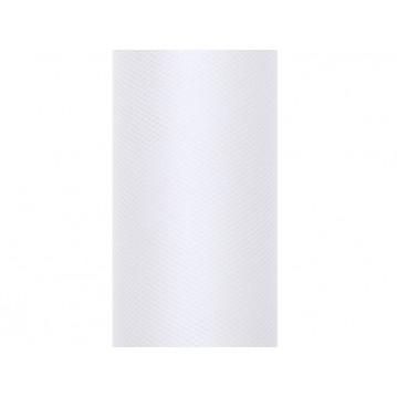 Tyl hvid - 8 cm x 20 meter