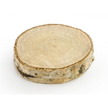 6 stk Bordkortholder af træ 4,5 - 6,5 cm i diameter