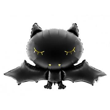"Flagermus sort 31,5"" folieballon"