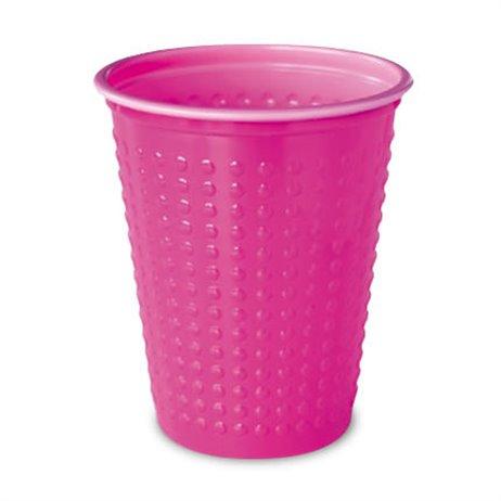 40 stk Rosa Duni plastglas - saftglas 20 cl