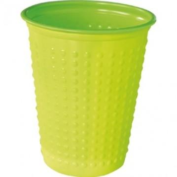 40 stk Grøn Duni plastglas - saftglas 20 cl