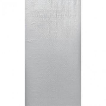 Sølv metalic Dunisilk borddug 138 x 220 cm