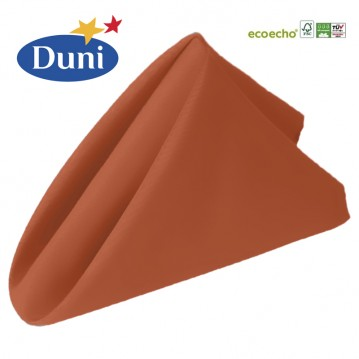 12 stk Mandarin Dunisoft middagsservietter