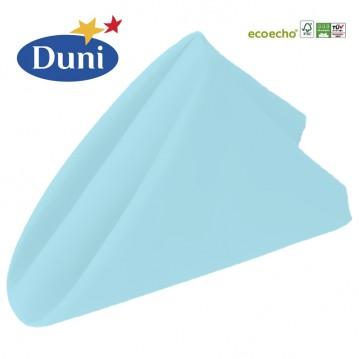 12 stk Mint Blå Dunisoft middagsservietter