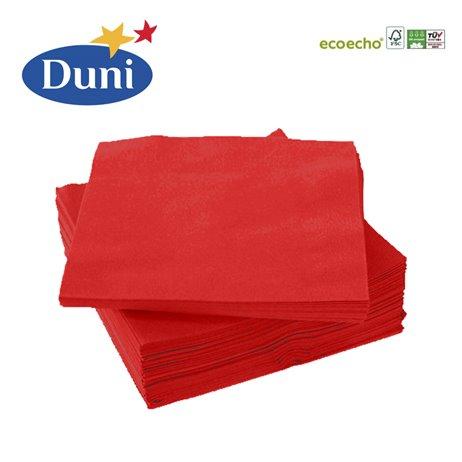 20 stk. Rød Duni frokostservietter