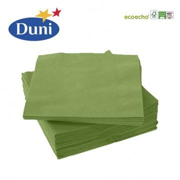 20 stk. Leaf green Duni frokostservietter