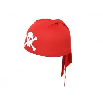 Piratbandana cap - rød