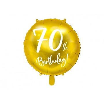 """70 års fødselsdag folieballoner 18"""""""