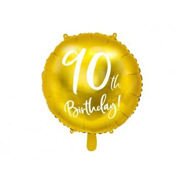 """90 års fødselsdag folieballoner 18"""""""