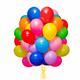 Helium Kit ballongas inkl. 50 balloner & snor - 0,42m³