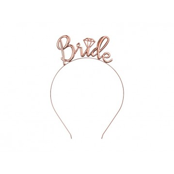 """Headband Bride, rose gold"""