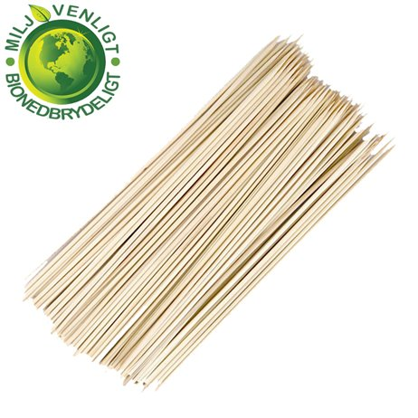 200 Stk. Grillspyd bambus 3 x 300 mm