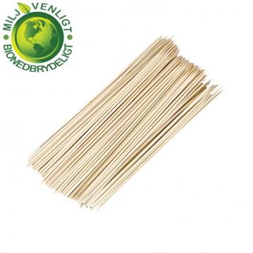 200 Stk. Grillspyd bambus 3 x 250 mm